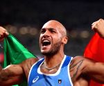 Olympics: Italian records surprise win in men's 100m race