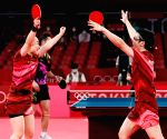 Olympics: Japan stun China to take mixed doubles gold in TT