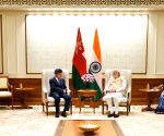 Oman Foreign Minister  calls on Modi