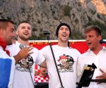 CROATIA OMIS FIFA WORLD CUP CELEBRATION