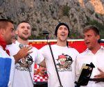 CROATIA OMIS FIFA WORLD CUP CELEBRATION