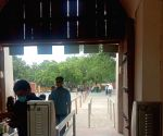 Free Photo: New Delhi: On the very first day of its opening, tourists arrived to see Qutub Minar, Red Fort.