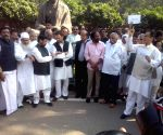 Opposition MPs' demonstration against demonetisation