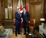CANADA OTTAWA LUXEMBOURG PM MEETING