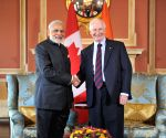 Ottawa (Canada): Modi meets the Governor General of Canada