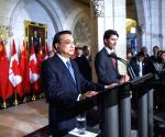 CANADA OTTAWA CHINA LEADERS PRESS CONFERENCE