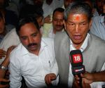 Harish Rawat outside the assembly