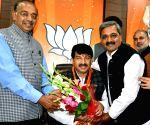 Manoj Tiwari appointed Delhi BJP chief