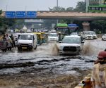 Overnight rainfall causes