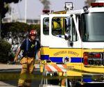 U.S. OXNARD CALIFORNIA BOAT FIRE