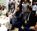 Abdul Basit during an Iftaar party