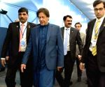 Imran inaugurates world's tallest roller compact concrete dam