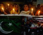 PAKISTAN LAHORE PARIS ATTACKS VIGIL