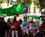 Free Photo: Pakistanis sing 'Vande Mataram' alongside Indians in London protest against China
