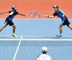 INDONESIA-PALEMBANG-ASIAN GAMES-MEN'S TEAM SOFT TENNIS-FINAL-SOUTH KOREA VS JAPAN