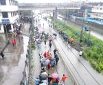 Mumbai paralysed by rains - for third time this monsoon