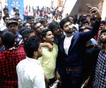 Parichayam team at Trendset Mall Vijayawada