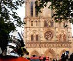 FRANCE PARIS NOTRE DAME CATHEDRAL FIRE