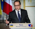 FRANCE PARIS UKRAINE PRESIDENT PRESS
