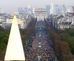 FRANCE PARIS MARATHON