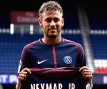 FRANCE PARIS FOOTBALL PARIS SAINT GERMAIN NEYMAR