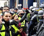 """FRANCE PARIS """"YELLOW VESTS"""" PROTEST"""
