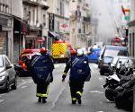 FRANCE PARIS GAS BLAST