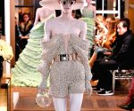 FRANCE PARIS FASHION WEEK HAUTE COUTURE BALMAIN
