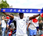 """FRNACE PARIS FOOTBALL WORLD CUP CHAMPION CELEBRATION"