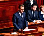 FRANCE PARIS EMMANUEL MACRON PARLIAMENT SESSION