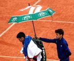 FRANCE-PARIS-TENNIS-ROLAND GARROS 2016-DJOKOVIC VS AGUT