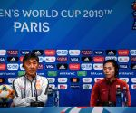 FRANCE-PARIS-2019 FIFA WOMEN'S WORLD CUP-GROUP B-CHINA-OFFICIAL PRESS CONFERENCE