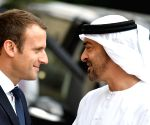 FRANCE-PARIS-ABU DHABI CROWN PRINCE-MEETING