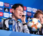 FRANCE-PARIS-2019 FIFA WOMEN'S WORLD CUP-PRESS CONFERENCE-SOUTH KOREA