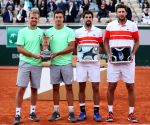 FRANCE PARIS TENNIS ROLAND GARROS FRENCH OPEN MEN'S DOUBLES FINAL