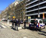 FRANCE PARIS IMF EXPLOSION