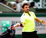 FRANCE-PARIS-TENNIS-ROLAND GARROS 2016-DAY 2 -Stan Wawrinka