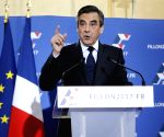 FRANCE PARIS FRANCOIS FILLON PRESIDENTIAL ELECTION CONSERVATIVE PRIMARY WINNING