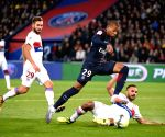 FRNACE-PARIS-SOCCER-LIGUE 1-PARIS SAINT GERMAIN VS LYON