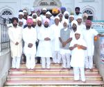 Partap Singh Bajwa, MP & President, Punjab state Congress Party visiting the family of Late Giani Tarlochan Singh