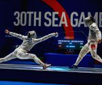 PHILIPPINES PASAY CITY SEA GAMES FENCING
