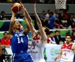 PHILIPPINES-PASAY CITY-BASKETBALL-FIBA OLYMPIC QUALIFYING MATCH