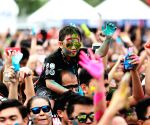 PHILIPPINES-PASAY CITY-COLOR MANILA SUPERHERO RUN