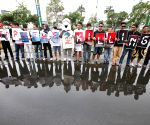 Pasay City: A protest rally against the dolphin hunt