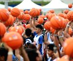 PHILIPPINES PASAY CITY BASKETBALL WORLD RECORD ATTEMPT