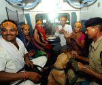 Shri Shakti Express chugs out of New Delhi railway station