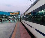 Vande Bharat Express delayed at Allahabad due to AC fault