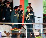 General Dalbir Singh presents President's Standards at Mamun Military Station