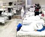 CHINA HUBEI WUHAN MAKESHIFT HOSPITAL PATIENTS