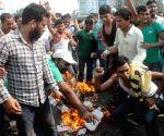 AISA demonstration against PM Modi